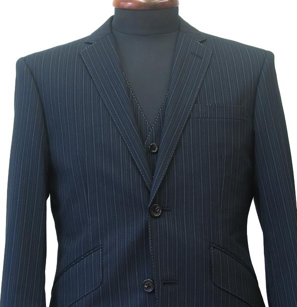 Ex|タイトクラシコ・3ピーススーツ
