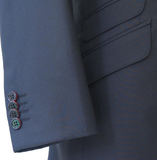 Cu|袖釦4個キス・バイカラー