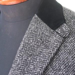 上衿黒ベルベット・英国調(Custom)