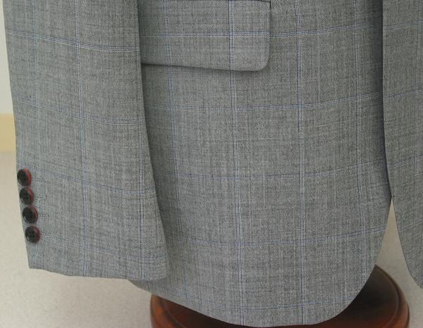 Cu|袖釦4個・ナット釦バイカラー