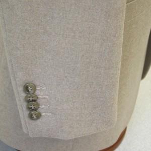 袖4個釦キス・無料釦(Custom)