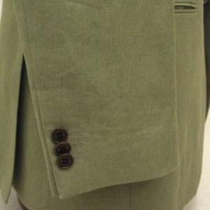 袖3個釦キス・ナットボタン(Custom)