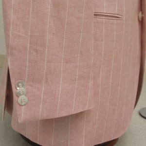 袖3個釦キス・白蝶貝(Custom)