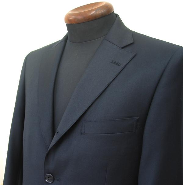 Ex|クラシコ・3釦段返りセミノッチ衿