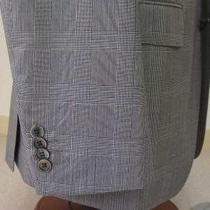 袖4個釦キス|黒蝶貝(Custom)