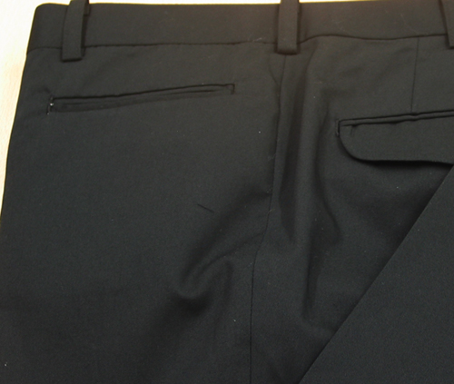 Ex|横切りポケット