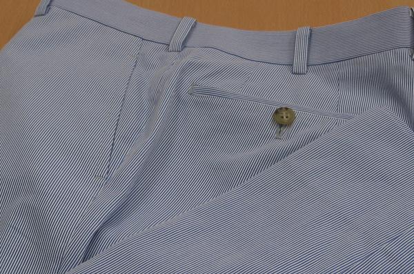 Ex|パンツ脇ポケット斜め・コードレーン
