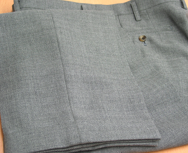 Ex|パンツ裾W・サマーツイード