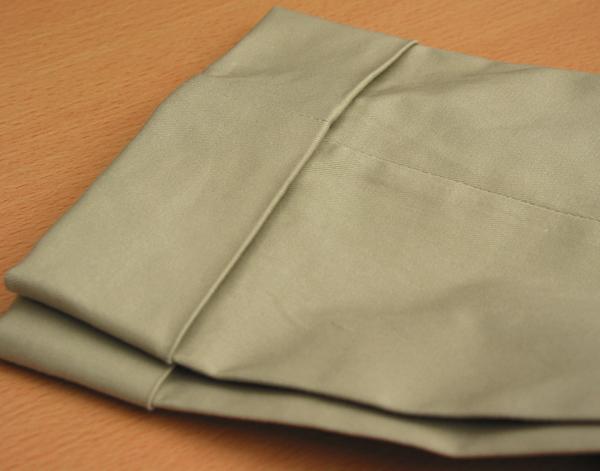Ex|パンツ裾ダブル5cm・コットン