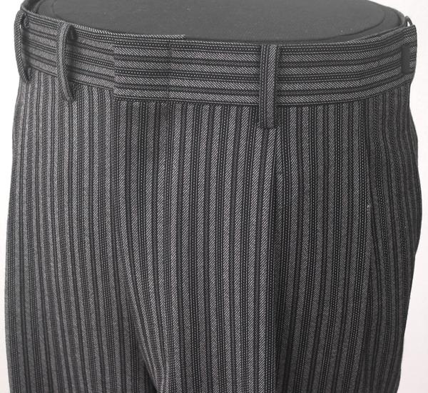 縞ズボン(コールパンツ)