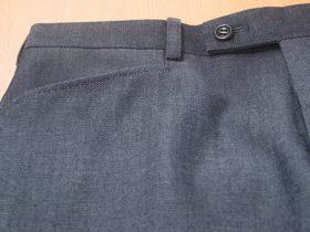 パンツ脇ポケット・ヨコ角型