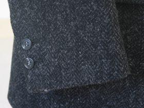 アイビージャケット袖釦2個