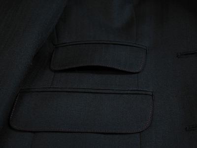 ジャケットの色ステッチ②
