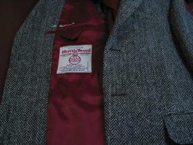 ツイードのジャケット