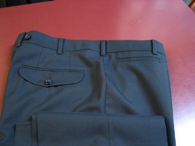 横切りのパンツポケット