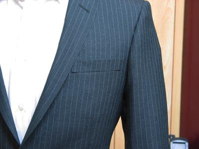 浅い胸ポケットハコ