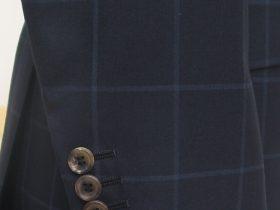袖釦の付け方「くっつき」