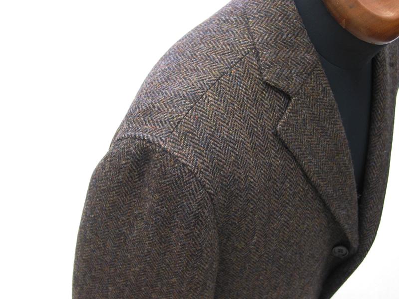 ナポリ仕様クラシコ|ツイード生地で仕立てた雨降り袖