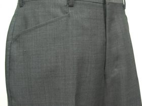 ウエスタン型の脇ポケット