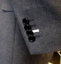 釦穴かがり糸・色糸指定