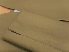 袖先デザインにスリットを選んで変化を付ける