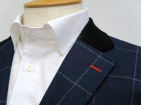 ノータイでもサマになるジャケットの衿元をデザインする