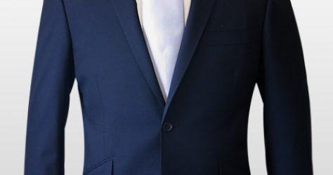タイトスーツ・2釦ナローピーク衿