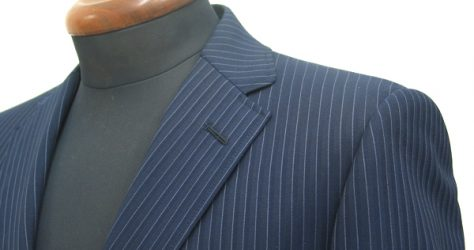 ショート丈スーツ|ナローラペル