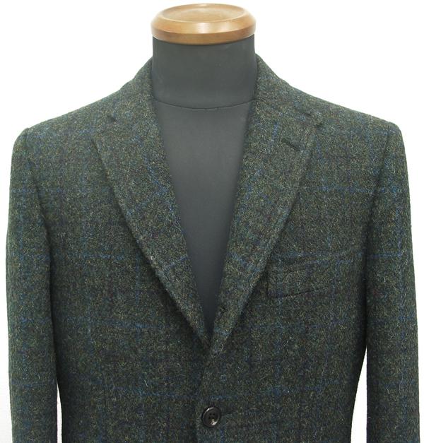 ハリスツイードで仕立てたジャケットは、それだけで暖かく コートを着る必要がないほど・・、と多くのお客様からお聞きします(…)