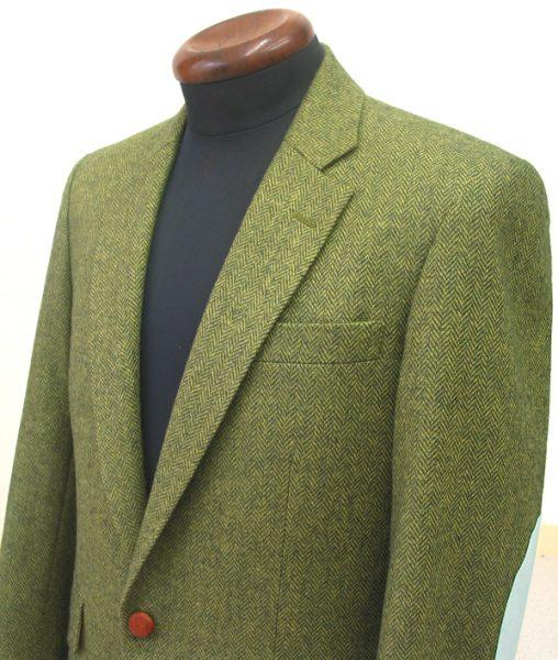 シングル1釦1掛・シェリーツイードジャケット
