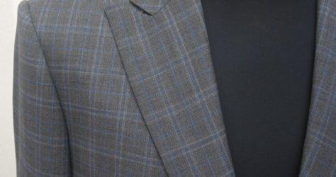 ブリティッシュ・ピーク衿|盛夏用スーツ