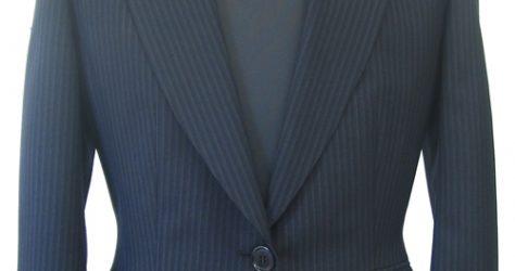 レディースタイト シングル1釦ピーク衿