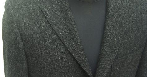 クラシコスーツ・衿型ノッチ