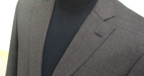 クラシコスーツ・セミノッチ衿