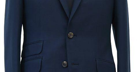 ネイビーコットン・ブリティッシュスーツ