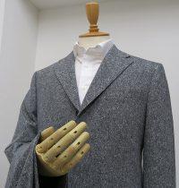グレーホームスパン・ツイードスーツ