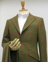 ウィンドウペーン柄・ブリティッシュツイードスーツ