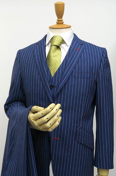 ハリソンズフロンティア・ベスト付きスーツ