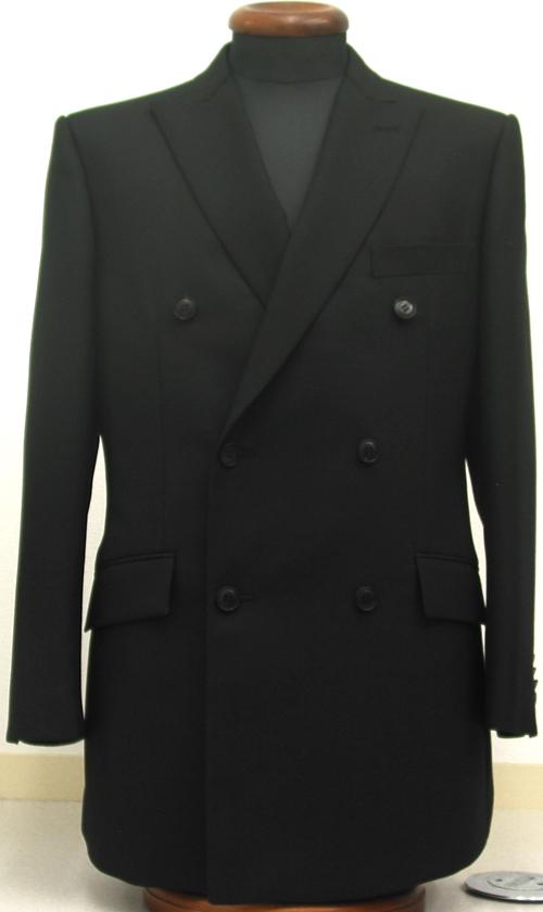 ブラックスーツ・ダブル6釦2掛(ブリティッシュ)