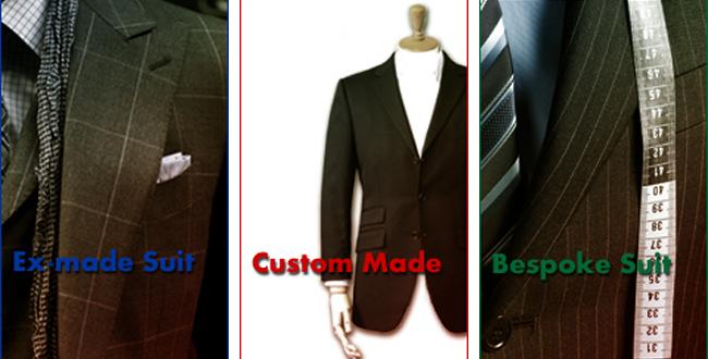 シルエット、デザインの違いから選べる縫製ライン