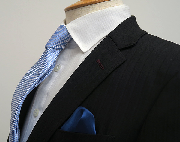 ナローラペル(衿巾6cm)スーツ(Ex-made・タイトナロー)