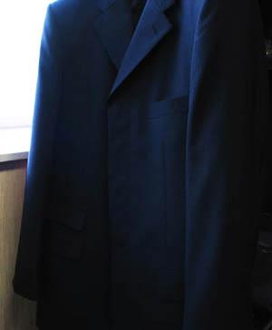 比翼仕立てジャケット