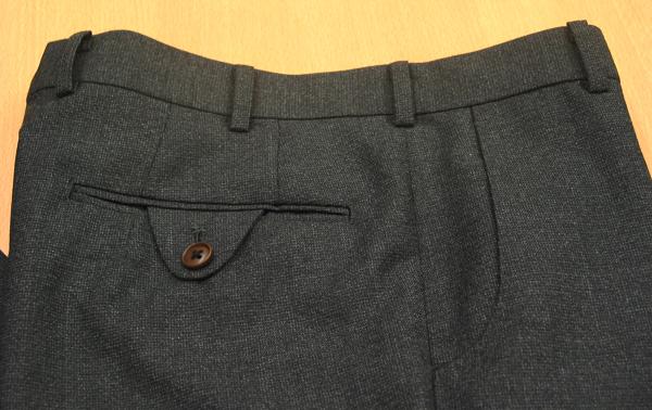 パンツポケットデザイン各種